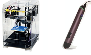 Stampante 3D e penna 3D