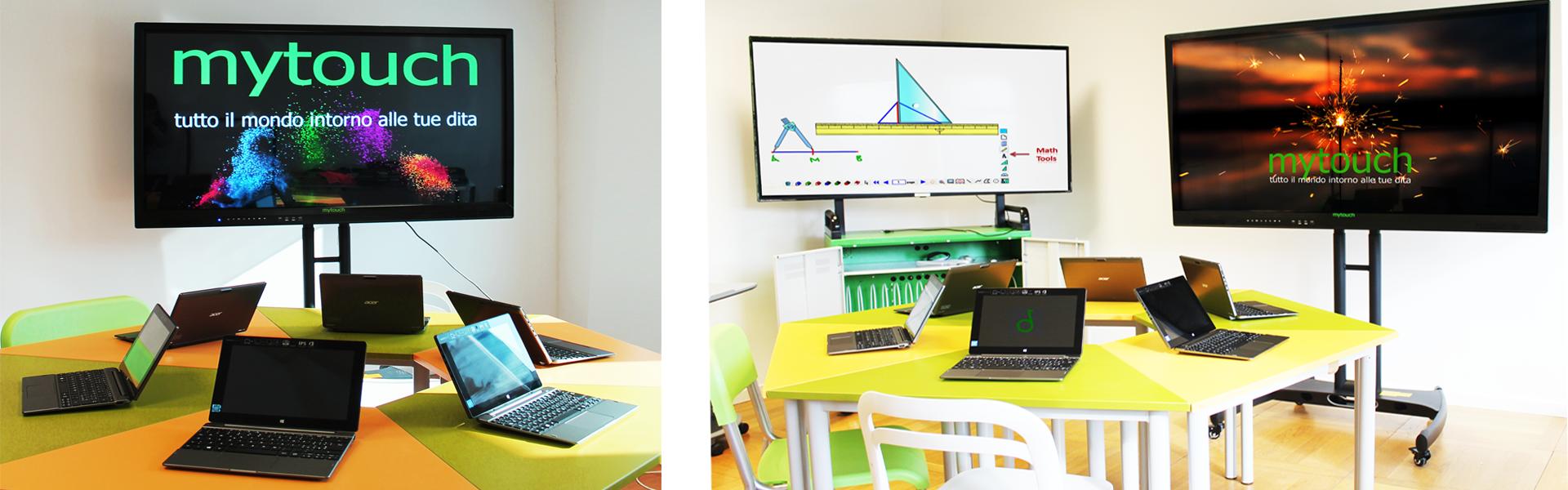 Ambienti Digitali, Atelier creativi monitor